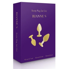Los Placeres de lola Booty Plug Anal Set (3X) by Rianne S