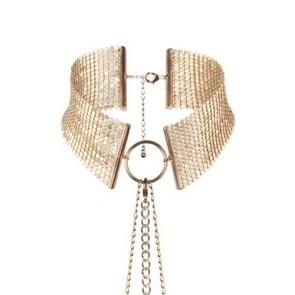 Los Placeres de Lola metallic mesh collar Bijoux Indiscrets