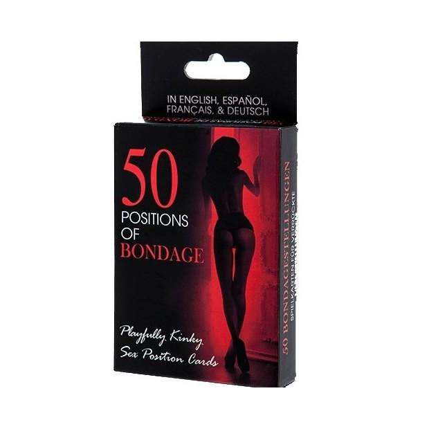 Los Placeres de Lola card game 50 bondage positions