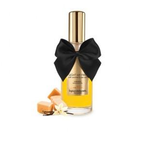 Los Placeres de Lola Light my Fire Soft Caramel & Sea Salt Warming Massage Oil Bijoux Indiscrets