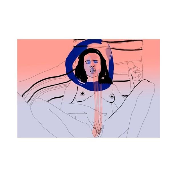 Los Placeres de Lola dibujo  Florencia Magallanes