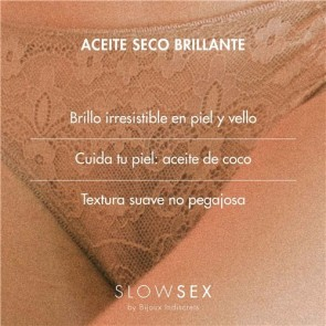 Los Placeres de Lola Slow Sex and Skin Shimmer Dry Oil Bijoux Indiscrets