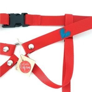 Los Placeres de Lola color nylon strap on Lulú Lafem