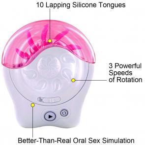 Los placeres de Lola tongue vibrator Sqweel