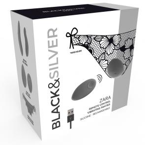 Los placeres de Lola vibrador con control remoto Zara by Black and Silver