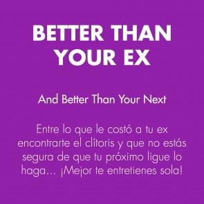 Los placeres de Lola clitorial vibrator Better Than Your Ex by Bijoux Indiscret