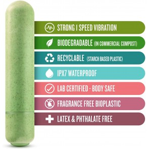 Los placeres de Lola Eco Bullet vibrator by Gaia