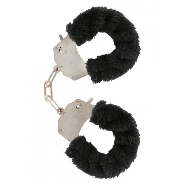 Los placeres de Lola Furry Fun Cuffs by Toy Joy