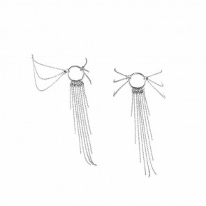 Los placeres de Lola Metalic Chain Feet Jewelry by Bijoux Indiscret